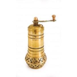 Ručně zdobený mlýnek na kávu, výška 10 cm
