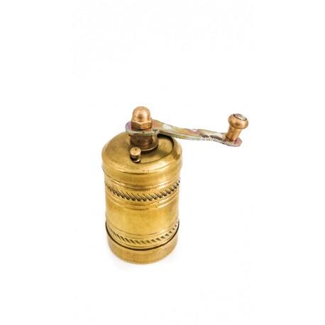Ručně zdobený malý mlýnek na koření, výška 5 cm