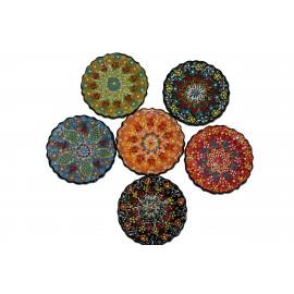 Keramický talířek, průměr 13 cm