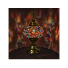 Orientální skleněná lampa Kirmizi - závěsná