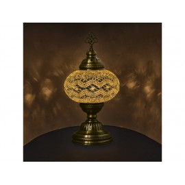 Orientální skleněná mozaiková lampa Aydin - stolní